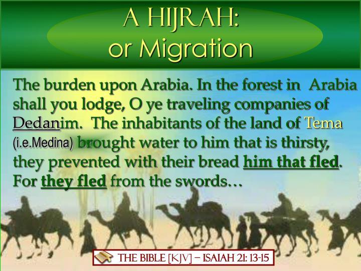 A Hijrah: