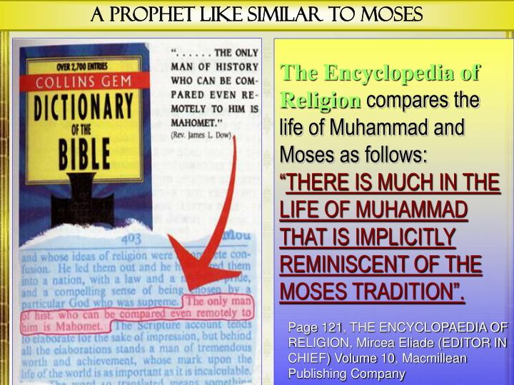 A Prophet Like Similar to Moses