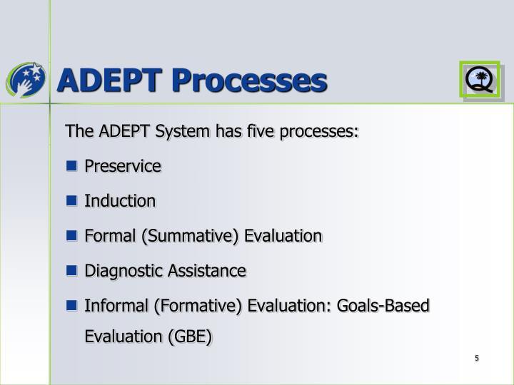 ADEPT Processes