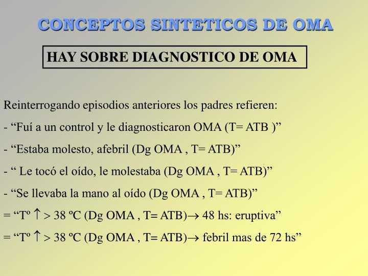 CONCEPTOS SINTETICOS DE OMA