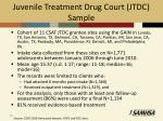 juvenile treatment drug court jtdc sample1