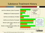 substance treatment history1