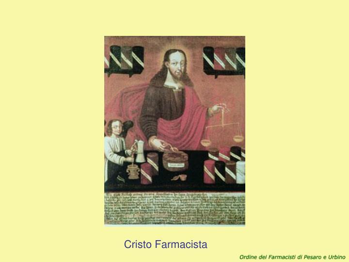 Cristo Farmacista