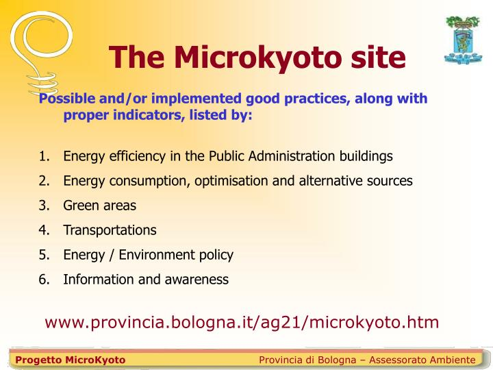 Progetto MicroKyoto
