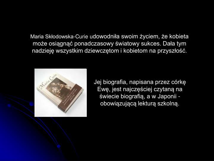 Maria Skłodowska-Curie u