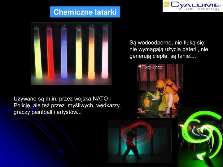 Chemiczne latarki