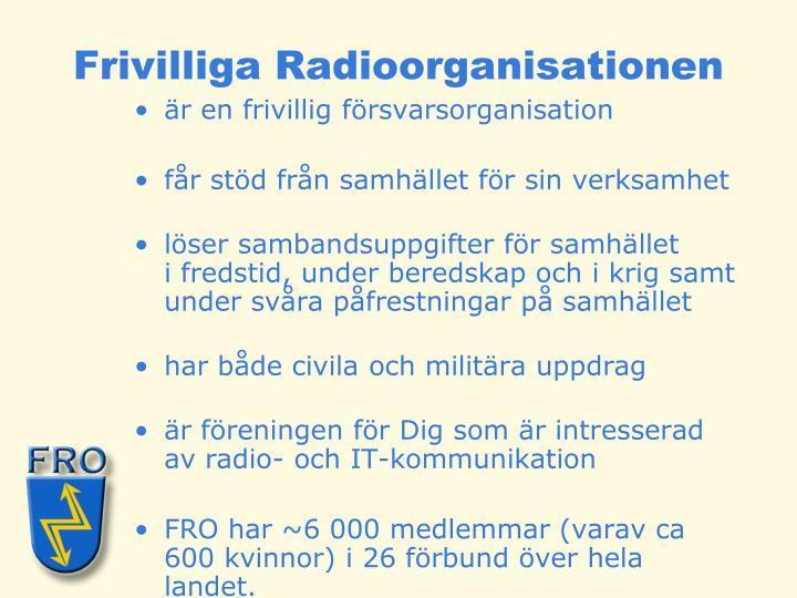Frivilliga Radioorganisationen