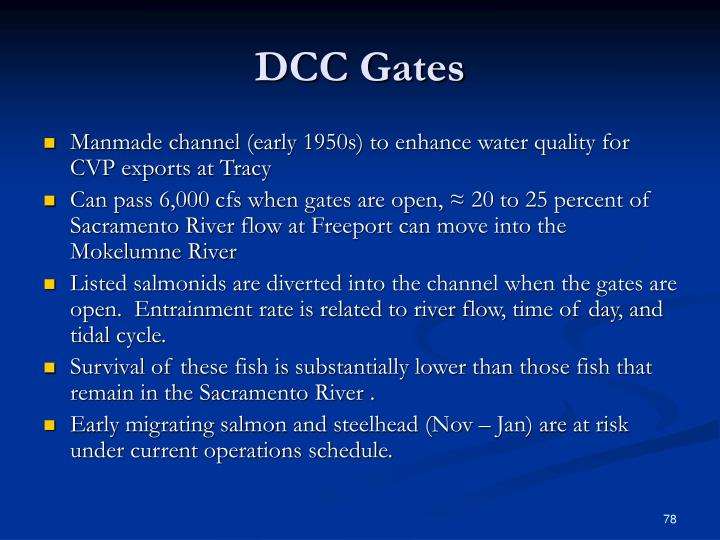 DCC Gates
