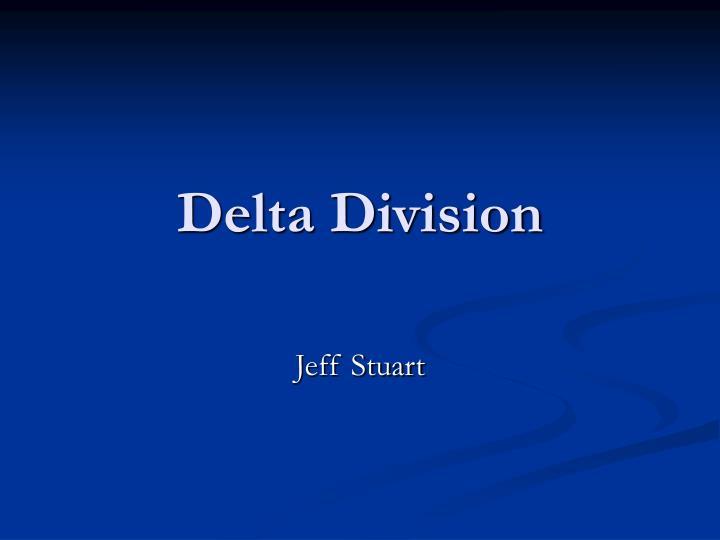 Delta Division