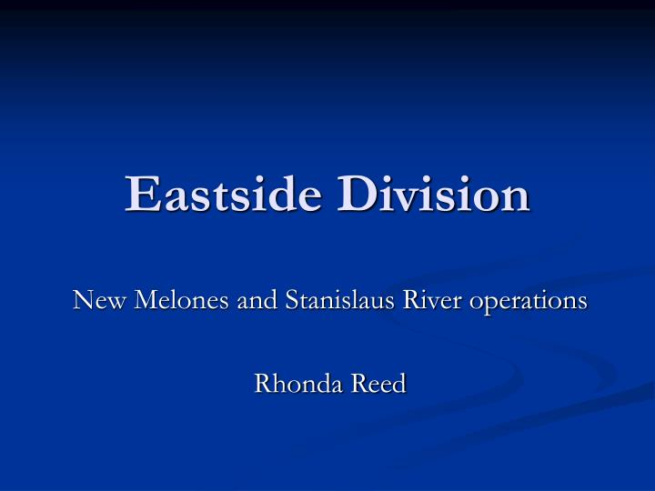 Eastside Division