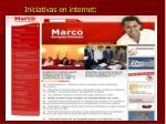 iniciativas en internet
