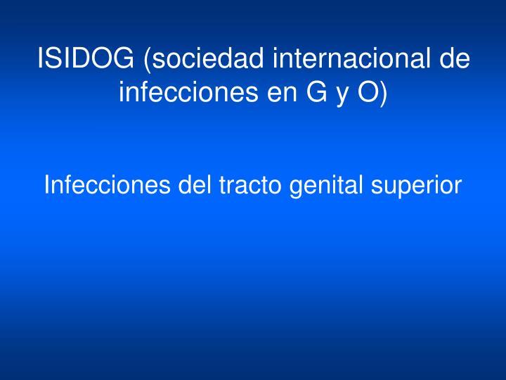 ISIDOG (sociedad internacional de infecciones en G y O)