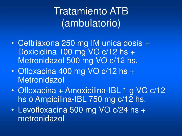 Tratamiento ATB