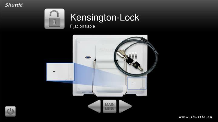 Kensington-Lock