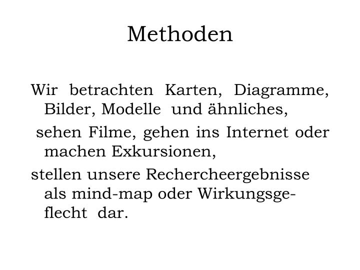 Methoden