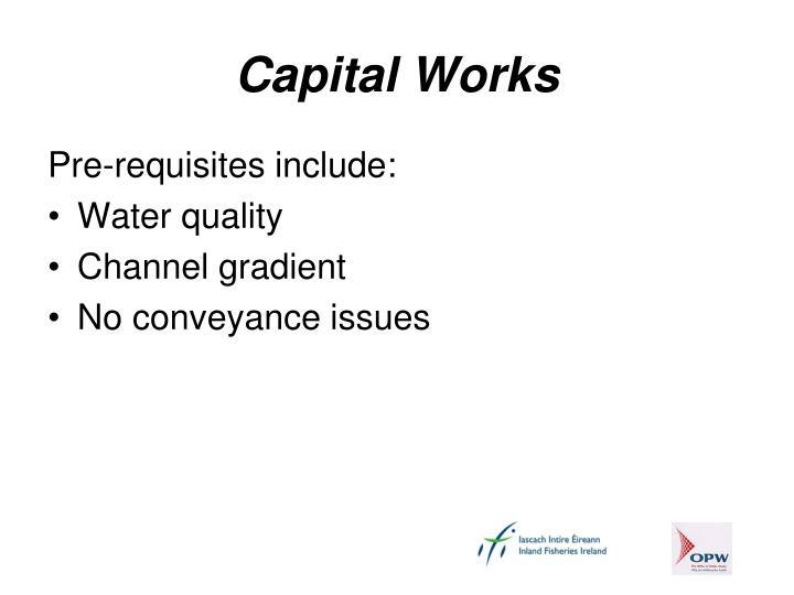 Capital Works