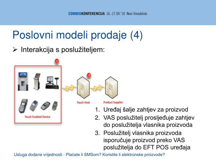 Poslovni modeli prodaje (4)