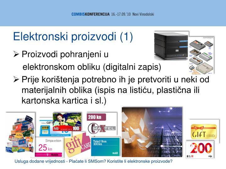 Elektronski proizvodi (1)