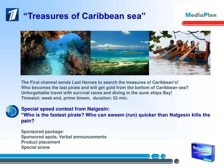 """Treasures of Caribbean sea"""