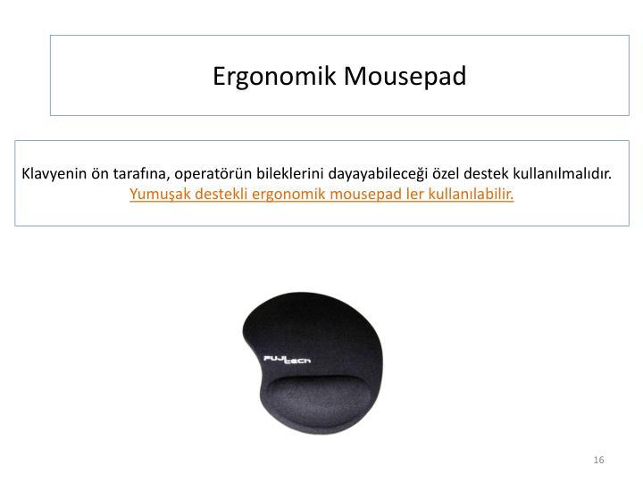 Ergonomik Mousepad