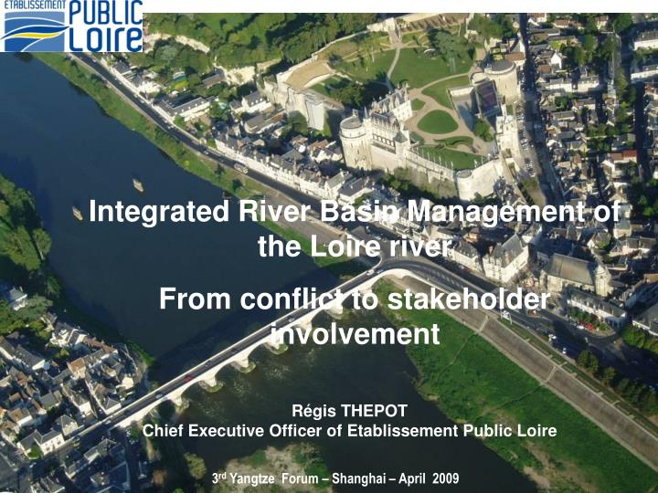 Integrated River Basin Management of the Loire river