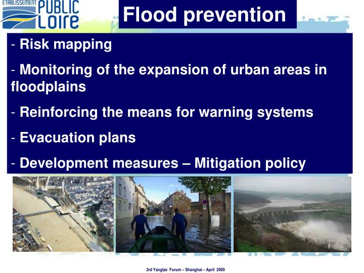 Flood prevention