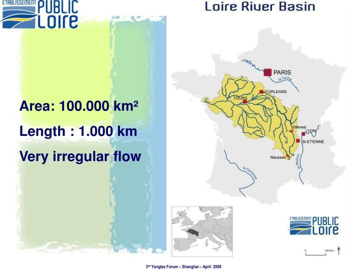 Area: 100.000 km²