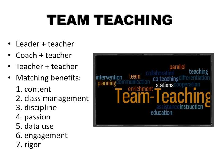 TEAM TEACHING