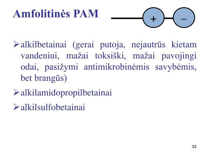 Amfolitinės PAM