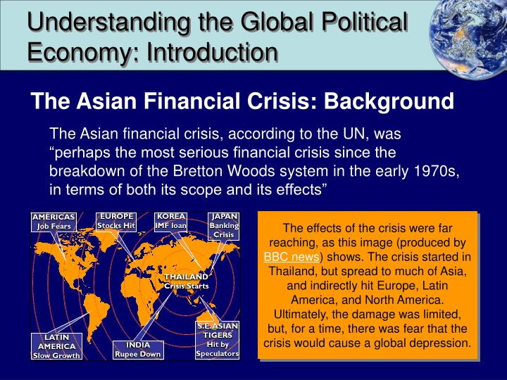 Understanding the global political economy introduction1