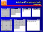 adding components via layouts1