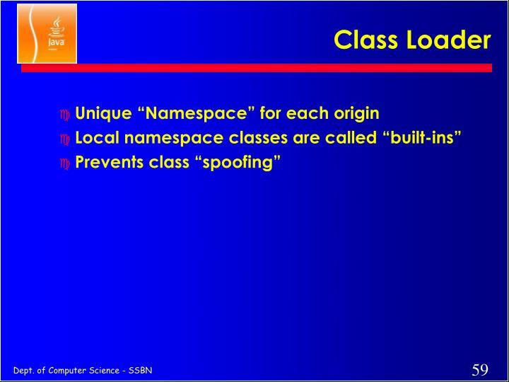 Class Loader