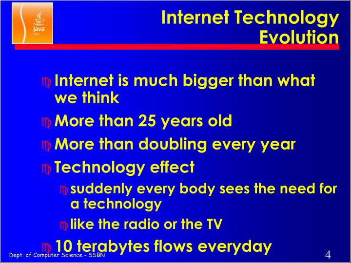 Internet Technology Evolution