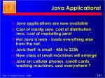 java applications