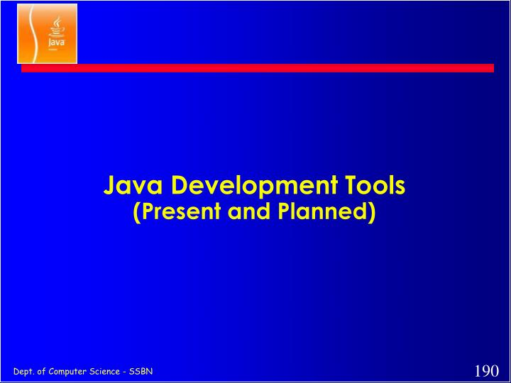 Java Development Tools