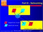part iii networking