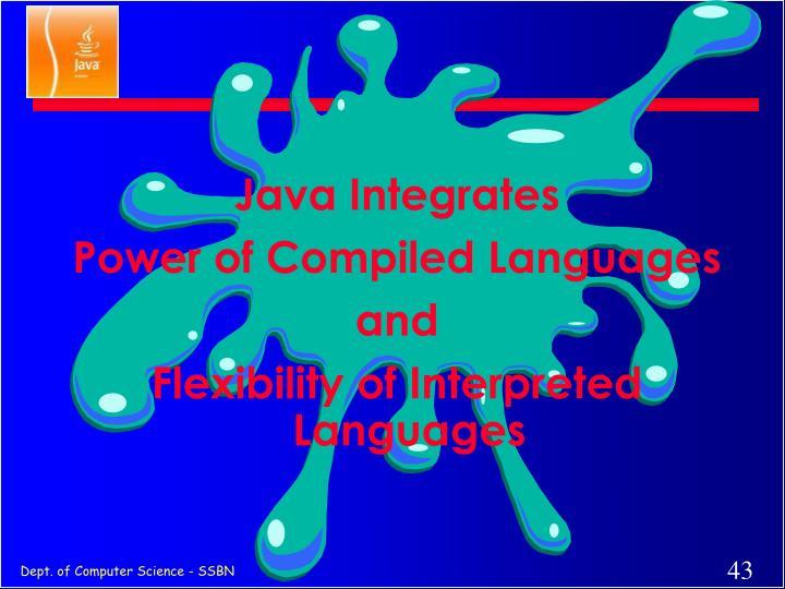 Java Integrates