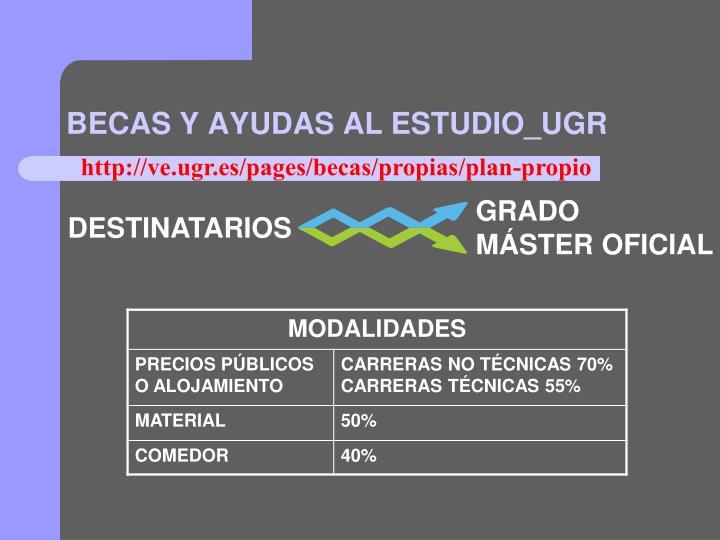 BECAS Y AYUDAS AL ESTUDIO_UGR