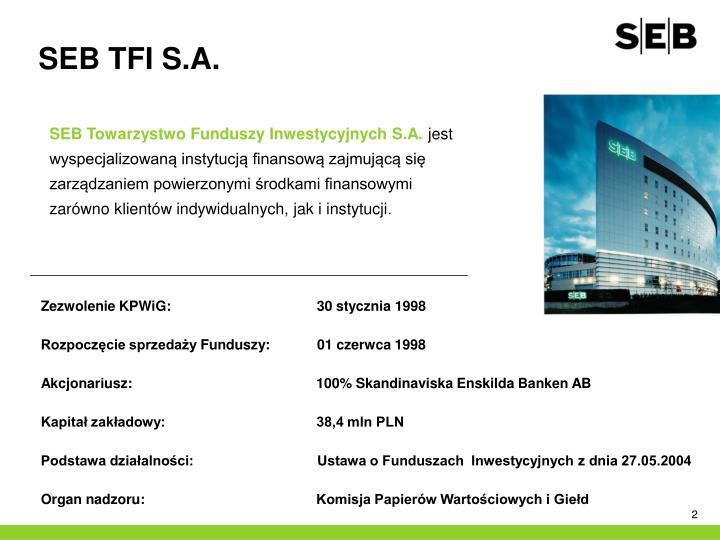 SEB TFI S.A.