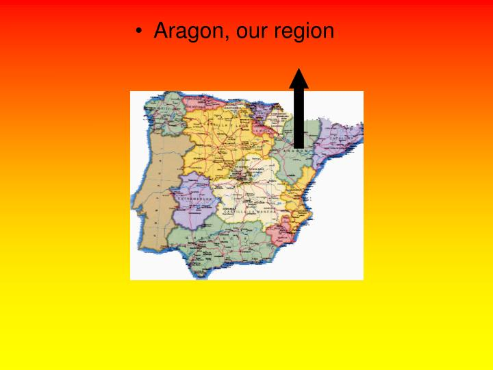 Aragon, our region