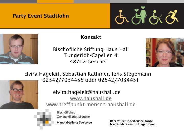 Party-Event Stadtlohn