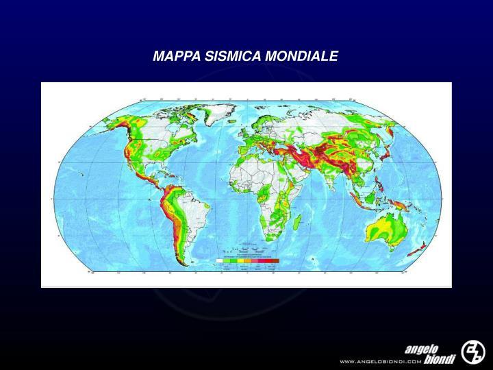 MAPPA SISMICA MONDIALE