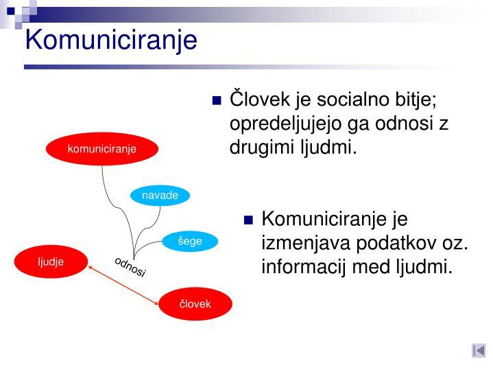 Komuniciranje