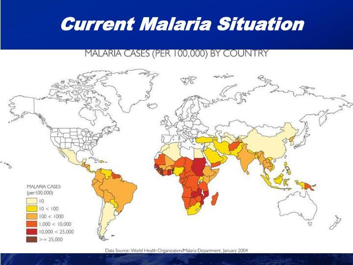 Current Malaria Situation
