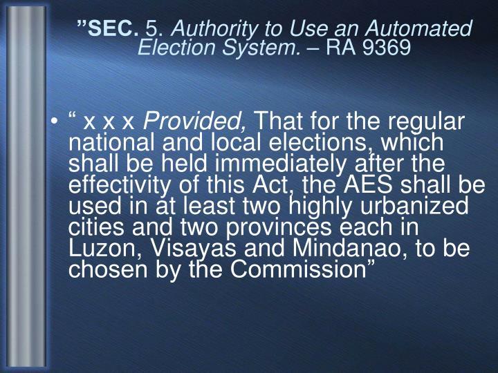 """""""SEC."""