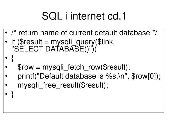 SQL i internet cd.1