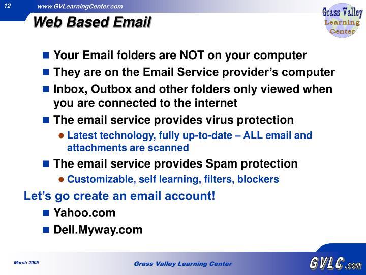 Web Based Email