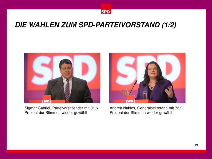 DIE WAHLEN ZUM SPD-PARTEIVORSTAND (1/2)