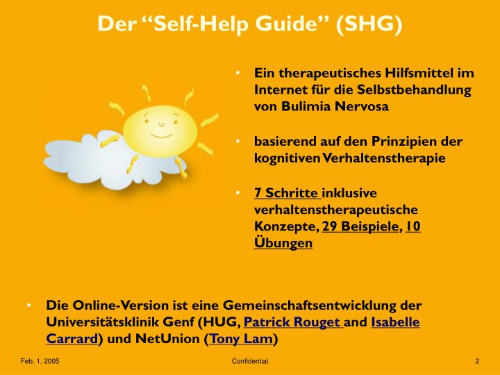 Der self help guide shg1
