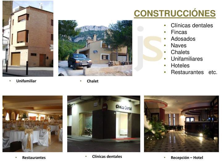 CONSTRUCCIÓNES